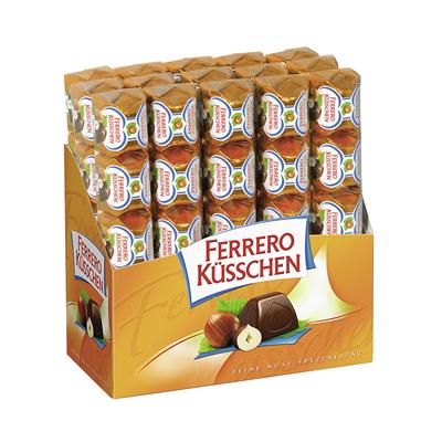 Grosspackung Ferrero Küsschen Riegel 5er Classic - 15 x 46 g = 0,69 kg