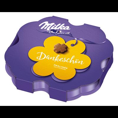 Grosspackung Milka Pralines I love Milka Kleines Dankeschön - 10 x 44 g Schachtel = 0,44 kg