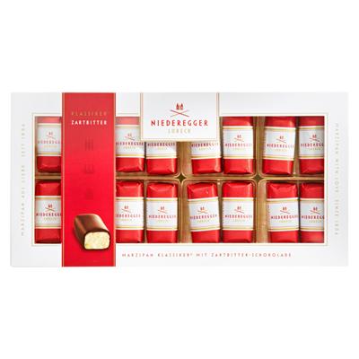 Grosspackung Niederegger Marzipan Klassiker mit Zartbitter-Schokolade 10 x 200 g =  2 kg