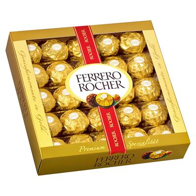 Grosspackung Ferrero Rocher Knusprige Nuss-Pralinen-Spezialität 10 x 312 g, 25 Stück = 3.12 kg
