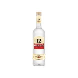 Grosspackung Ouzo 12 aus Griechenland x 0,7 l = 4,2 Liter
