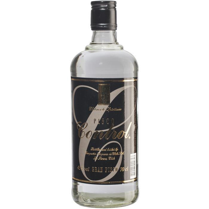 Grosspackung Pisco Control Weinbrand aus Muskatellertrauben aus Chile und Peru 6 x 0,7 l = 4,2 Liter