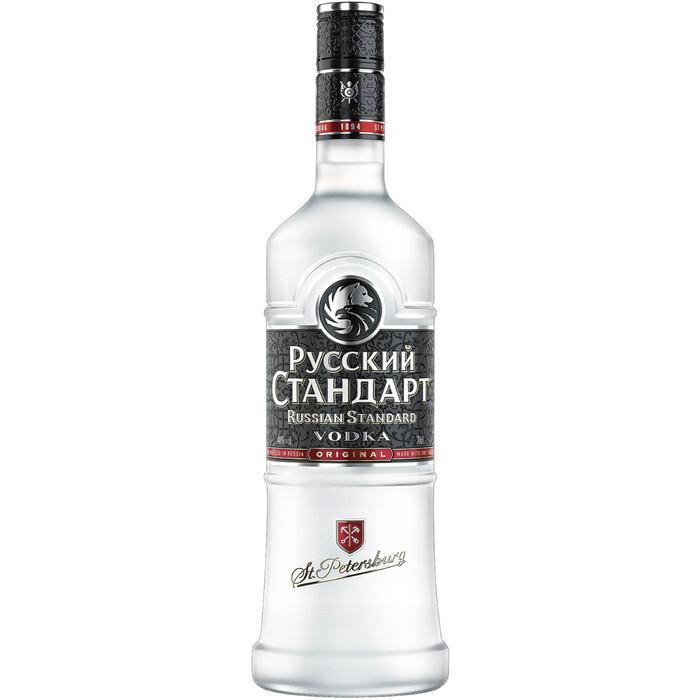 Grosspackung Russian Standard Original Vodka aus Russland  6 x 0,7 l = 4,2 Liter