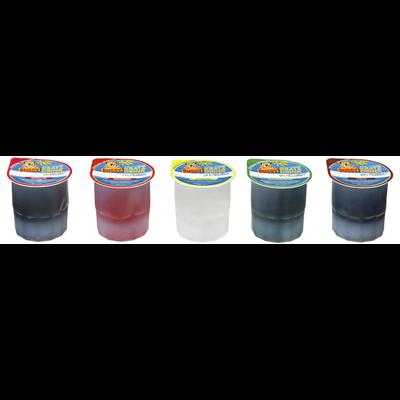 Grosspackung Bussy Kratzeis Wassereis Mix 40 Stück à 200 ml = 8 Liter, Mix aus Cola, Zitrone, Erdbeere, Waldmeister, Kirsche Karton