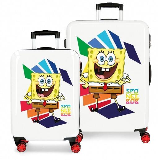 Disney Kinderkoffer-Set SpongeBob 34/70 Liter rot/weiss 2-teilig