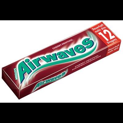 Grosspackung Wrigleys Airwaves Kaugummi Cherry Menthol 12 Dragees 30 Packungen
