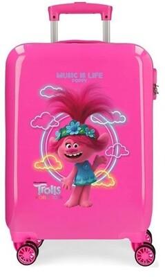 Disney Kinderkoffer Trolls Mädchen 55 cm ABS 55 cm 34 Liter rosa
