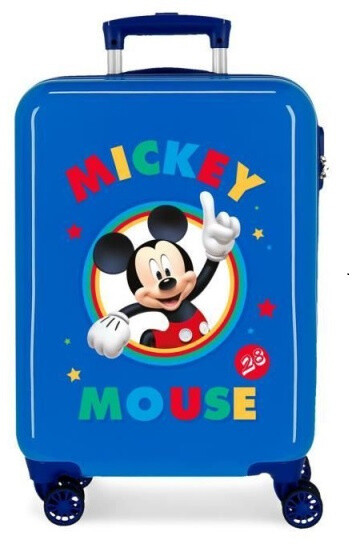 Disney Kinderkoffer Mickey Mouse 55 cm ABS 34 Liter blau