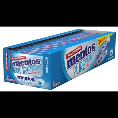 Grosspackung Mentos Gum Pure Fresh Fresh Mint - 24 x 16 g = 0,384 kg