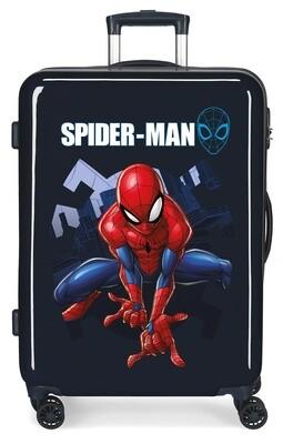 Marvel Spider-Man Kinderkoffer 68 cm 85 Liter dunkelblau