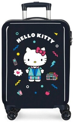 Disney Kinderkoffer Hello Kitty 70 Liter ABS 48 x 68 cm schwarz