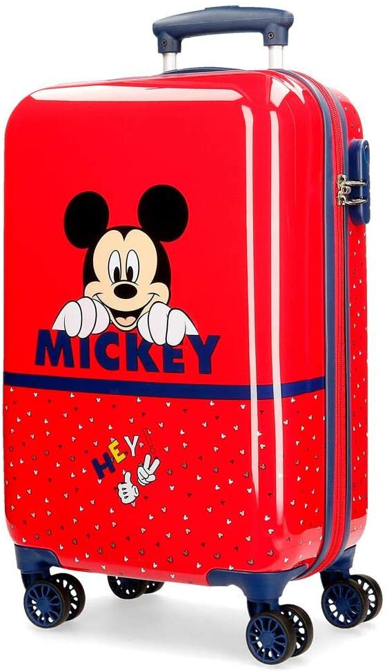 Disney Mickey-Mouse Kinderkoffer 32 Liter rot