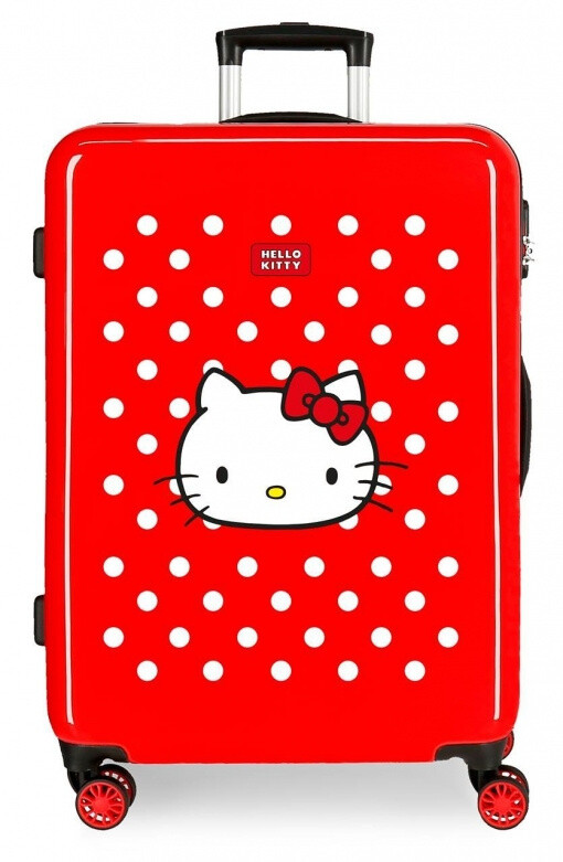 Disney Kinderkoffer Hello Kitty 70 Liter ABS 48x 68 cm rot