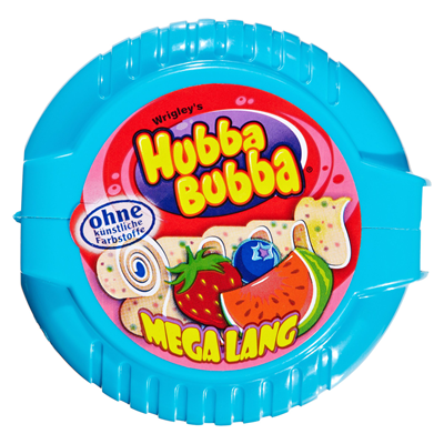 Grosspackung Hubba Bubba Bubble Tape Triple Mix 12 x 12 Rollen