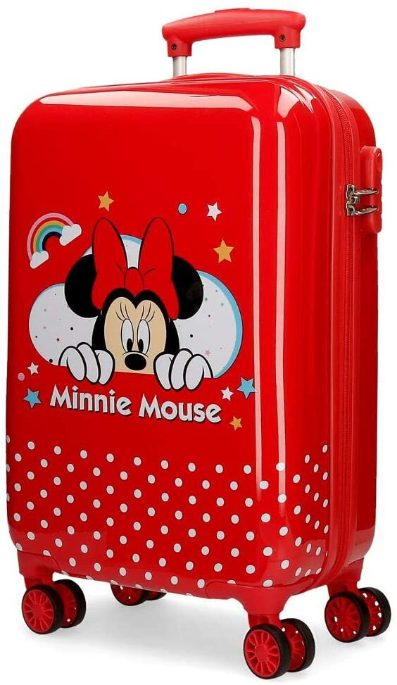 Disney Minnie-Mouse-Koffer 32 Liter rot