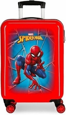 Marvel Kinderkoffer Spiderman 70 Liter ABS 68 cm rot/blau