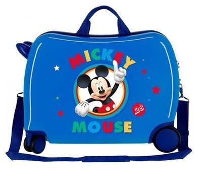 Disney Kinderkoffer Mickey Mouse 50 cm ABS 34 Liter blau