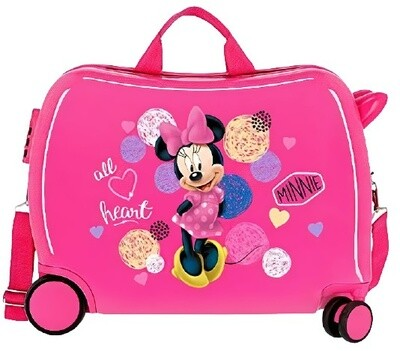 Disney Kinderkoffer Minnie Mouse 50 cm ABS 34 Liter rosa