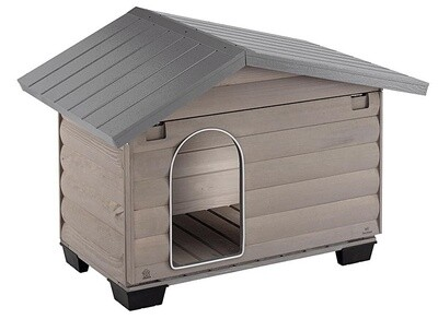 Ferplast Hundehütte Canada 4 110 x 69,5 x 78 cm Holz braun
