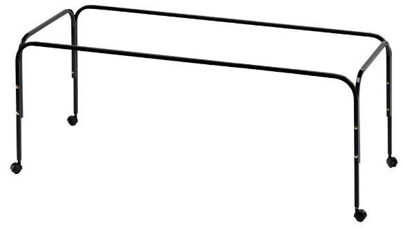Ferplast Käfigständer Rabbit 140 Stahl 130 x 50 cm schwarz