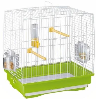 Ferplast Vogelkäfig Rekord 1 35,5 x 24,7 x 37 cm grün