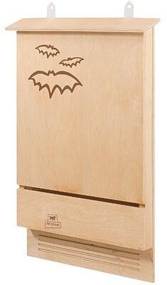 Ferplast  Fledermaus Box Holz 39 x 7 x 58 cm natürlich