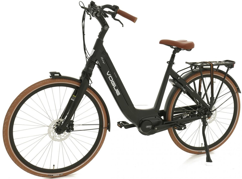 Damen E-Bike / Velo Vogue Mestengo 28 Zoll 49 cm 8SP Hydraulische Scheibenbremse Schwarz