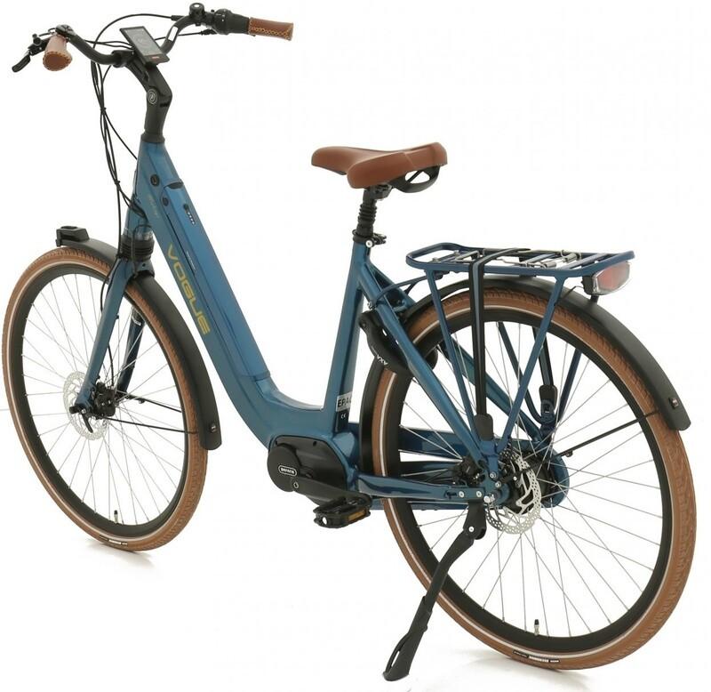 Damen E-Bike / Velo Vogue Mestengo 28 Zoll 49 cm 8G Hydraulisch Scheibenbremse Blau