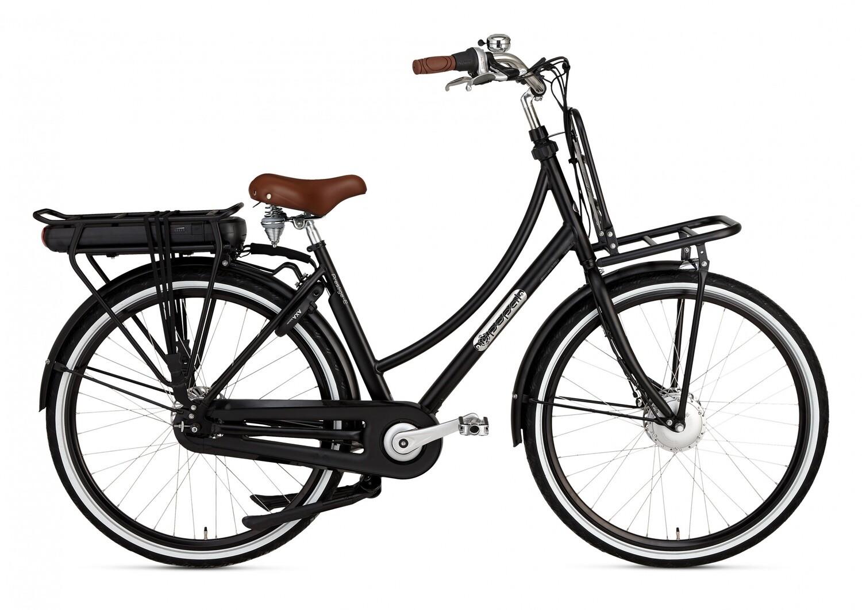 Damen E-Bike / Velo opal Prestige-E 28 Zoll 7SP Rollenbremsen Mattschwarz