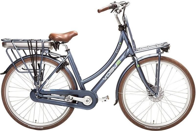 Damen E-Bike / Velo Vogue Elite 28 Zoll 57 cm 7SP Rollenbremsen Dunkelblau