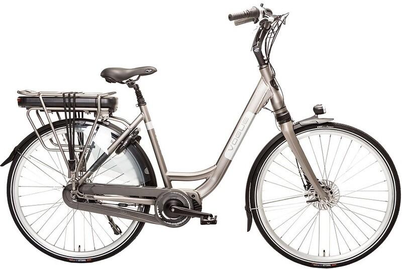 Damen E-Bike / Velo Vogue Premium 28 Zoll 48 cm Frau 7SP Rollenbremsen Champagner