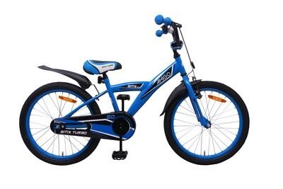 AMIGO BMX Fahrrad / Velo Turbo 20 Zoll 29 cm Rücktrittbremse blau