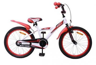 AMIGO BMX Fahrrad / Velo Turbo 20 Zoll Jungen Rücktrittbremse Weiss