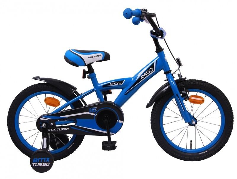 AMIGO BMX Fahrrad / Velo Turbo 16 Zoll Jungen Rücktrittbremse  Blau