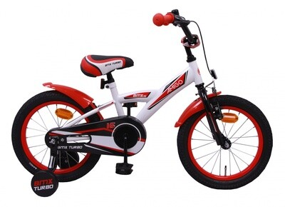 AMIGO BMX Fahrrad / Velo Turbo 16 Zoll Jungen Rücktrittbremse Weiss