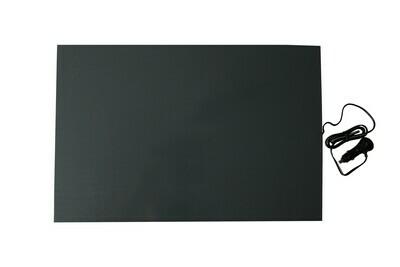 Hunde-/ Haustier-Wärmeplatte Heizmatte PVC, Stecker für Zigarettenanzünder 40 x 60 cm