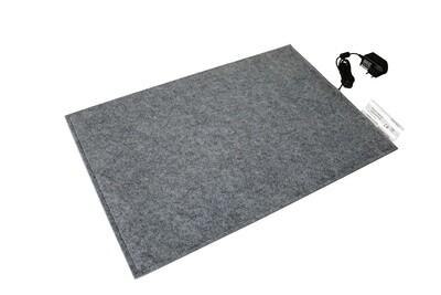 Wärmeplatte Heizmatte aus Filz für Hunde, 40x60cm, mit 12V-Trafo