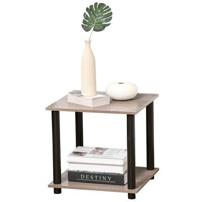 HOMCOM® Beistelltisch Betttisch Nachttisch Couchtisch für Wohnzimmer