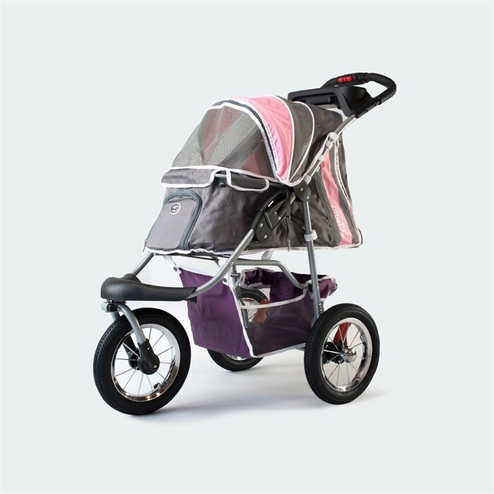 "Innopet Hundebuggy Pet Stroller ""Comfort"" Pink/Grau"