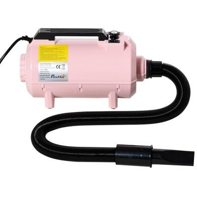 PawHut® Profi Hundeföhn, Tierfön 2200W in rosa / pink