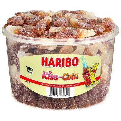 Restposten Haribo Happy Cola Sauer 75 Stück - 1,125 kg Dose