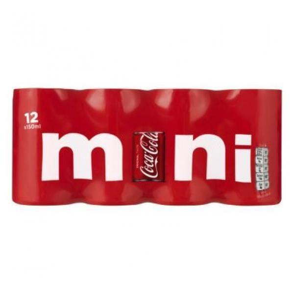 Coca Cola Mini Classic( 24 x 0,15 Liter Dosen NL) = 3,6 Liter