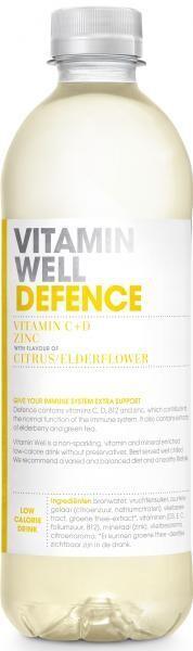 Vitamin Well Defence (STG 12 x 0,5 Liter PET Flaschen NL) = 6 Liter