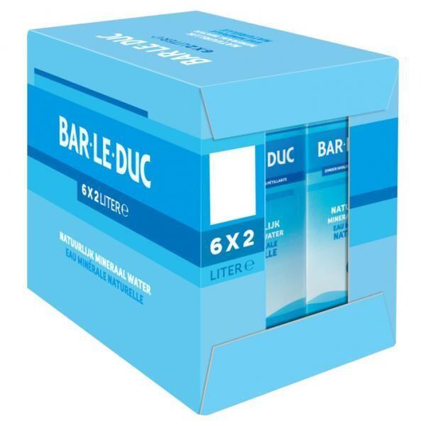 Bar le Duc stilles Wasser (6 x 2 Liter Tetra-Pack) = 12 Liter