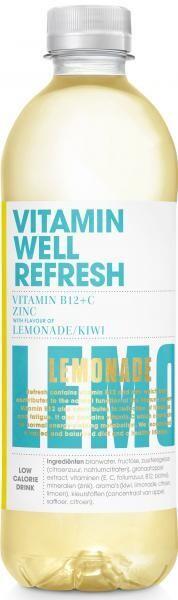 Vitamin Well Refresh (STG 12 x 0,5 Liter PET Flaschen NL) = 6 Liter