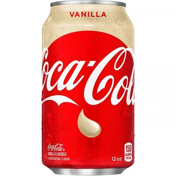 Coca Cola USA Vanilla (12 x 0,355 Liter Dosen) = 4,26 Liter