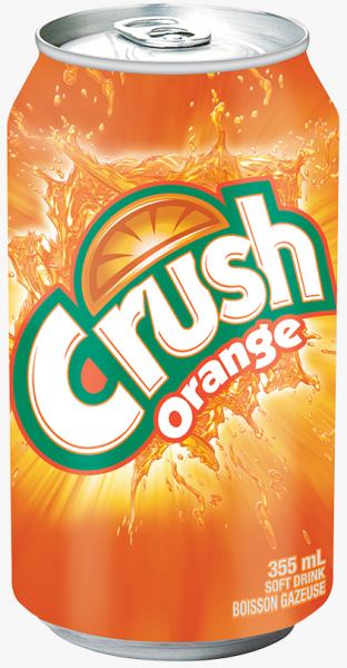 Crush Orange (12 x 0,355 Liter Dosen) = 4,26 Liter