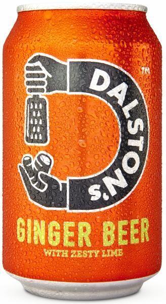 Dalston's Ginger Beer (12 x 0,33 Liter Dosen GB) = 3,96 Liter