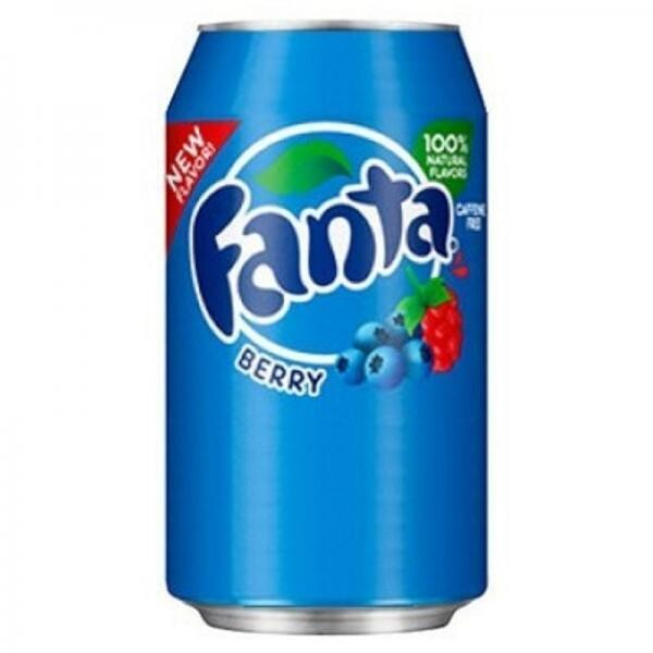 Fanta USA Berry (12 x 0,355 Liter Dosen) = 4,26 Liter