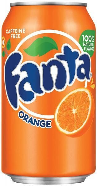 Fanta USA Orange (12 x 0,355 Liter Dosen) = 4,26 Liter